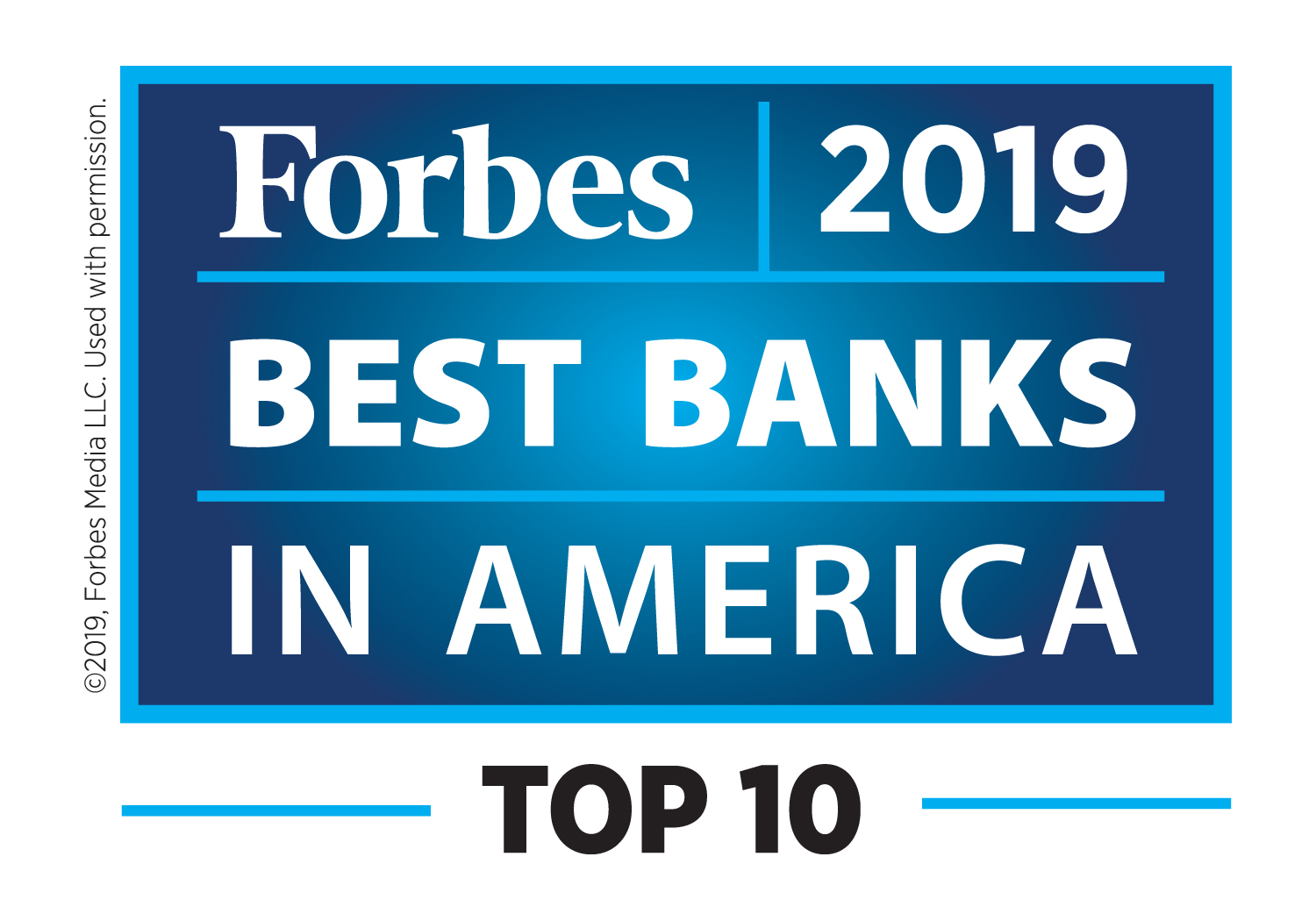Cathay General Bancorp is ranked #10 on Forbes' 2019 America's Best Banks list.