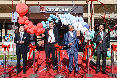 Cathay Bank opened its Irvine Northwood branch in 2018.