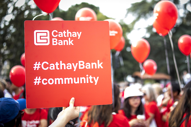 Team Cathay Bank has supported Walk for Hope Los Angeles since 2007, benefiting City of Hope's cancer research, treatment, and educational programs.
