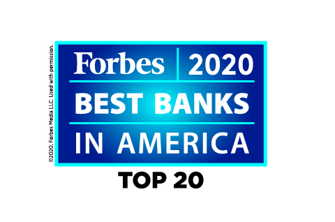 Cathay General Bancorp ranks in Top 20 on Forbes Best Banks in America 2020 list