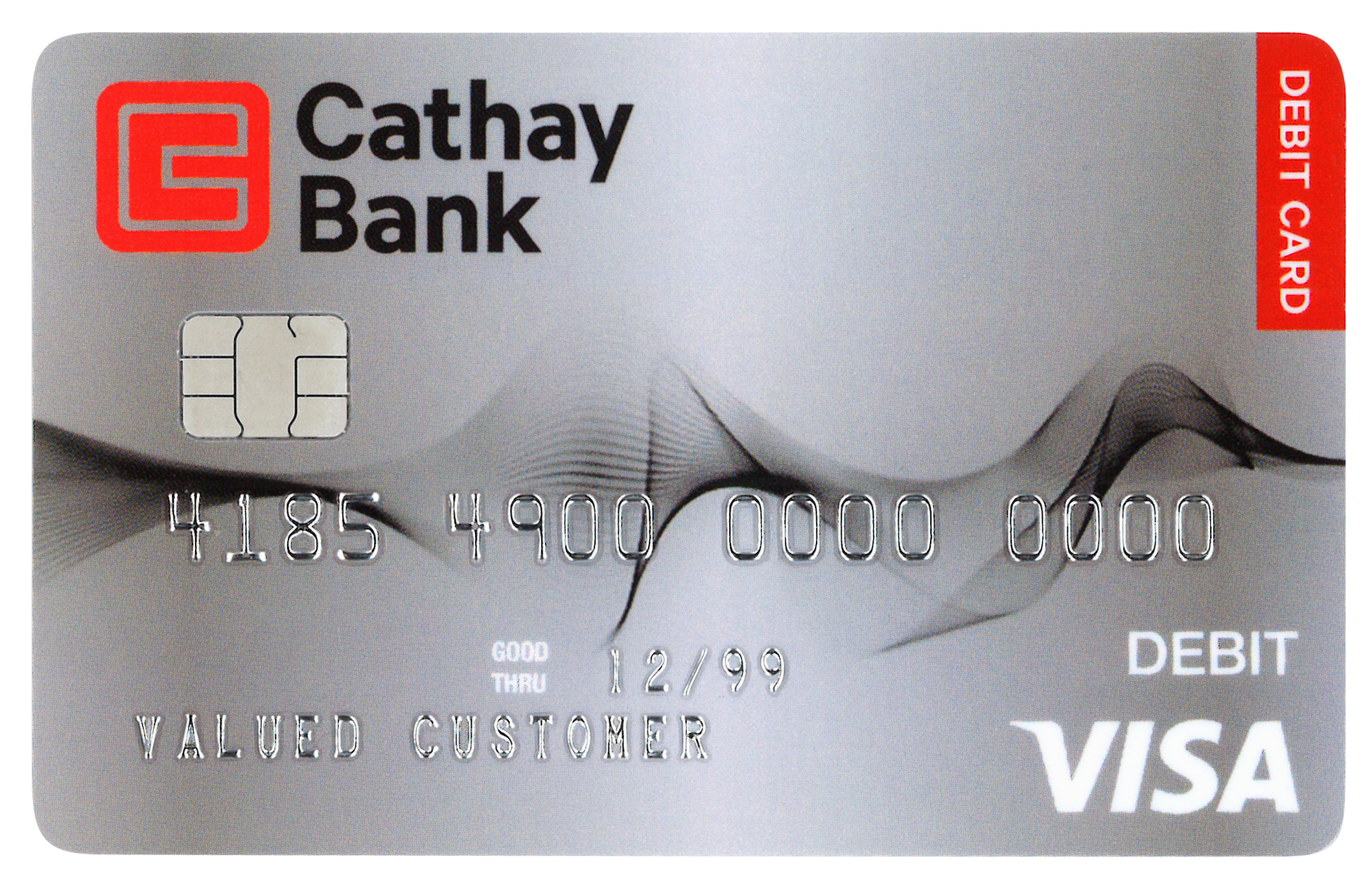 Cathay Bank debit card